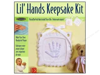 Resin, Ceramics, Plaster $7 - $10: Milestones Keepsake Kits Lil Hands Spiral