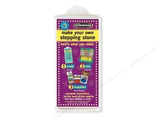 "Outdoors $4 - $8: Milestones Stepping Stone Mold 4""x 8"" Brick"