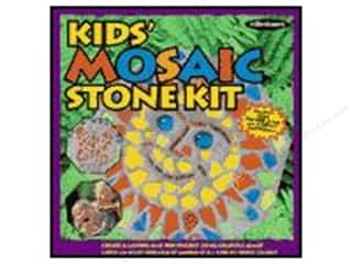Wood Gardening & Patio: Milestones Kit Stepping Stone Kids Mosaic Octagon 8""
