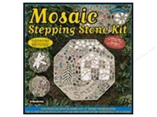 Wood Gardening & Patio: Milestones Kit Stepping Stone Mosaic Octagon 12""