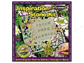 "Floral & Garden 11"": Milestones Kit Stepping Stone Inspiration Square 11"""