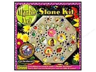 Kids Crafts: Milestones Kit Stepping Stone Marble Art Octagn 8""