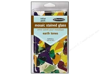 Outdoor, Patio, Garden Ceramics, Plaster & Resin: Milestones Decoration Value Pack Mosaic Stained Glass Earth