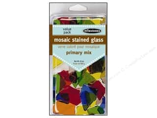 Floral & Garden Glass: Milestones Decoration Value Pack Mosaic Stained Glass Primary