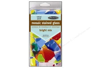 Outdoor, Patio, Garden Ceramics, Plaster & Resin: Milestones Decoration Value Pack Mosaic Stained Glass Bright