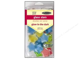 Milestones Decoration VP Glass Glow/Dark Star
