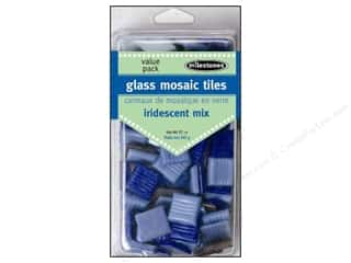 Milestones Decoration VP Glass Tiles Iridescent Dk