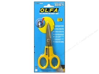 Weekly Specials Scissors: Olfa Scissors Stainless Steel Serrated Edge 5""