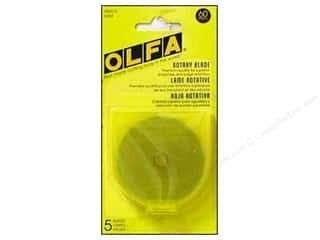 Rotary Cutting $0 - $5: Olfa Replacement Blade 60 mm 5 pc