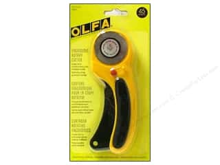 Clamps Scissors & Rotary Cutters: Olfa Rotary Cutter 45 mm Deluxe