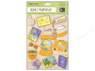 K&amp;Co Grand Adhesions Happy Trails Passport Travel