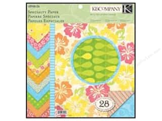 K&amp;Co Paper Pad 12x12 Citronella Specialty