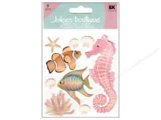 Clearance Blumenthal Favorite Findings: Jolee's Boutique Stickers Sea Creatures