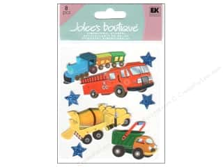 Jolee's Boutique Stickers Trucks And Trains