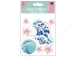 Jolee&#39;s Boutique Stickers Hibiscus And Waves