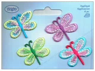 Wrights Applique Iron On Dragonflies