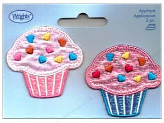Wrights Applique Iron On Cupcakes
