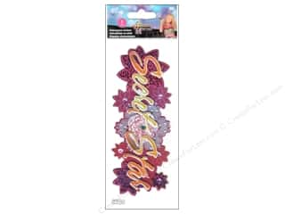EK Disney Sticker 3D Hannah Montana Star Title