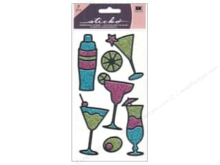 EK Sticko Stickers Tropical Drinks Outline