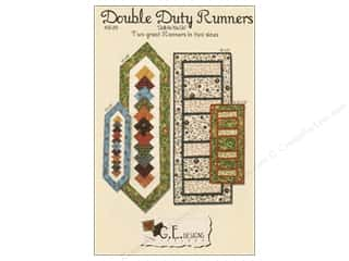 G.E. Designs Clearance Patterns: GE Designs Double Duty Runners Pattern