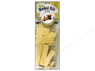 Wood Length: Darice Wood Model Kit Train
