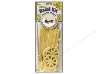 Wood Burning $8 - $12: Darice Wood Model Kit Covered Wagon