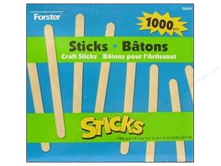 Kid Crafts Hot: Woodsies Craft Stick 1000 pc.