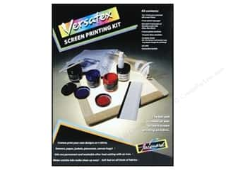 Projects &amp; Kits: Jacquard Versatex Screen Printing Kit