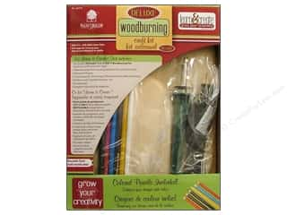 Wood Burning Walnut Hollow Learn & Create Kits: Walnut Hollow Deluxe Woodburning Kit