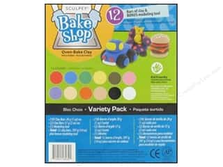 Kids Crafts Clay & Modeling: Sculpey Bake Shop Clay Variety Pack 12 pc.