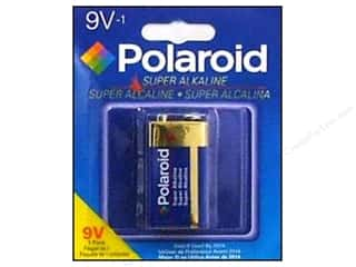 Batteries: Polaroid Super Alkaline Batteries 9Volt 1pc