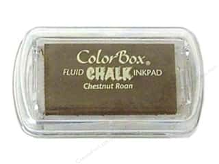 Weekly Specials Clays: ColorBox Fluid Chalk Inkpad Mini Size Chestnut Roan