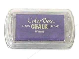 Clearance ColorBox Fluid Chalk Ink Pad Mini Size: ColorBox Fluid Chalk Ink Pad Mini Sz Wisteria