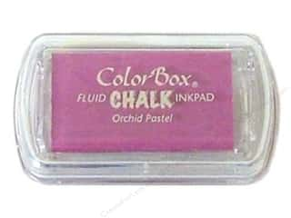 Clearance ColorBox Fluid Chalk Ink Pad Mini Size: ColorBox Fluid Chalk Ink Pad Mini Sz Orchid Pastel
