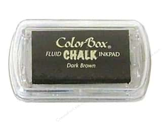 ColorBox Fluid Chalk Ink Pad Mini Sz Dark Brown
