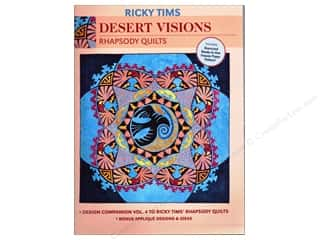 Ricky Tims Desert Visions Rhapsody Quilts Book
