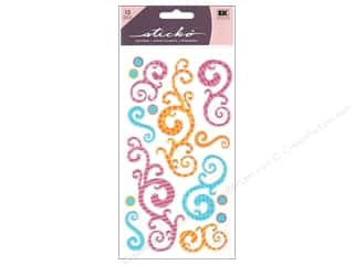 Wrap Birthdays: EK Sticko Stickers Birthday Swirls