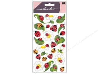 EK Sticko Stickers Lady Bugs