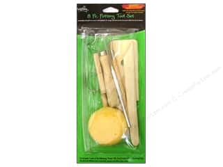 Clay & Modeling Cutters: Polyform Clay Tools Tool Set Pottery 8pc