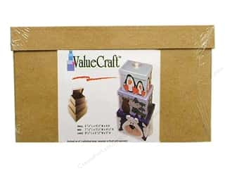 Craft Guns $4 - $6: Paper Mache Medium Rectangle Box Value Pack Set of 3 by Craft Pedlars