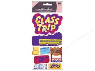 Back To School EK Sticko Stickers: EK Sticko Stickers Metallic Class Trip
