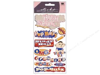 EK Sticko Stickers Metallic High School