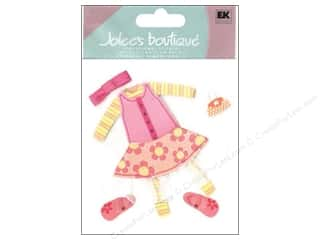 Jolee's Boutique Stickers Little Girl Clothes