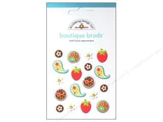 Doodlebug Brads Boutique 18pc Tutti Fruitti
