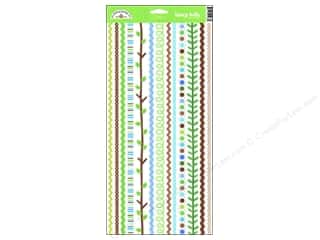 Doodlebug Stickers Cardstock Fancy Frills Key Lime