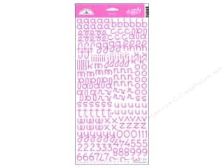 Doodlebug Stickers Cardstock Alpha Candy Shoppe Bubblegum