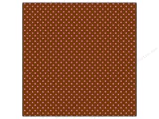 Doodlebug Paper 12x12 Dot Spot Cherry Chocolate (25 sheets)