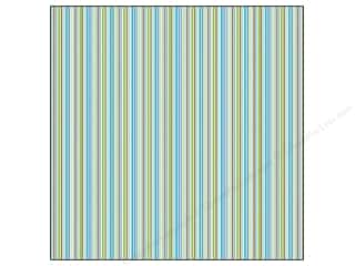 Doodlebug Paper 12x12 Stripe Dragonfly (25 sheets)