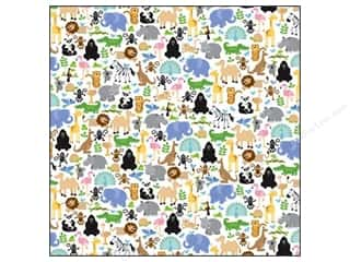 Doodlebug Paper 12x12 Zoofari (25 sheets)
