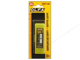 "Scissors 10"": Olfa Replacement Blades Safety Knife For SK-7 10pk"